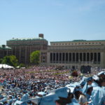 My graduation at Columbia in 2009